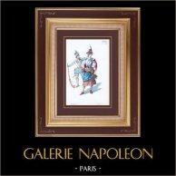 Traje - Fato de Teatro Francês - Pátria (Victorien Sardou) - Opera - Prostituta