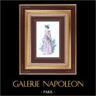 Costume da Teatro Francese - La grande Marnière (Georges Ohnet) - Mme Tourette