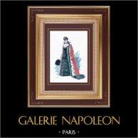 Costume da Teatro Francese - La princesse Georges (Alexandre Dumas fils) - Commedia - Sylvanie