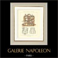 Dessin d'Architecte - Maison de Campagne à Saint-Germain-en-Laye (Mr Héret Architecte)