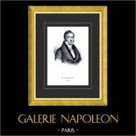 Portrait de Mauguin (1785-1854) - Homme Politique Français