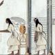 DÉTAILS 06 | Egypte Antique - Hiéroglyphes - Intérieur d'une Maison (Champollion)