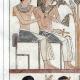 DÉTAILS 02 | Egypte Antique - Hiéroglyphes - Stèle Royale Funéraire (Champollion)