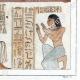 DÉTAILS 06 | Egypte Antique - Hiéroglyphes - Stèle Royale Funéraire (Champollion)