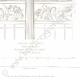 DETTAGLI 04   Disegno di Architetto - Cirque d'hiver - Circo d'inverno - Cirque Napoléon (Parigi) - Facciata - Frisia