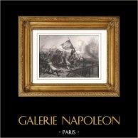 History of Napoleon Bonaparte - Battle of the Bridge of Arcole (1796) - Campaign in Italy - Lannes - Masséna - Augereau