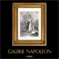 Portrait of Napoleon I of France (1769-1821) - Emperor of the French (1804-1815)