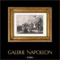 Napoleontische Oorlogen - Napoleon in de voorkant van Madrid (1808) - Spaanse Onafhankelijkheidsoorlog (Carle Vernet)