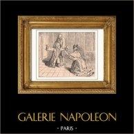 Voltaire - Hippolyte Clairon en Ferney