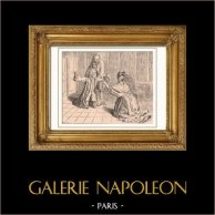 Voltaire - Mademoiselle Clairon à Ferney