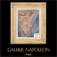 Ancienne Carte de l'Afrique - 1847