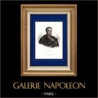 Portret van Nicolas Charles Oudinot (1767-1847) - Marshal van het Rijk - Napoleon - Bonaparte