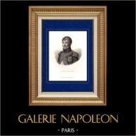 Porträtt av Louis Bonaparte (1778-1846) - Bror till Napoleon I | Original stålstick graverade av Couché fils. 1840