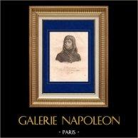 Retrato de Bonaparte (1769-1821) - Ejército de Italia - Campaña Napoleónica en Italia - Guerras Revolucionarias Francesas