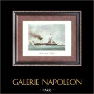 Golden Age of the Sailing Ships - Steamboat - Navire Mixte Sully