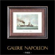 Age d'Or des Voiliers - Bateau à Vapeur - Navire Mixte Sully