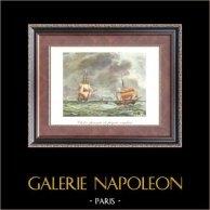 Golden Age of the Sailing Ships - England - Frigate - Chébec Français et Frégate Anglaise