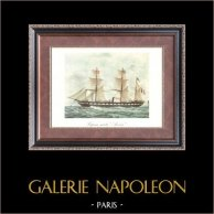 Golden Age of the Sailing Ships - Steamboat - Vapeur Mixte Avenir (Compagnie Arnaud)