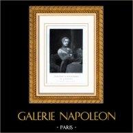Histoire de Napoléon Bonaparte - Napoléon II Roi de Rome - Fils de Napoléon Ier et de Marie Louise d'Autriche   Gravure sur acier originale dessinée par Schopin, gravée par Adolphe Portier. 1850
