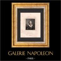 Portrait de François de Malherbe (1555-1628) - Poète Français
