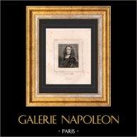 Portrait de Pierre Bayle (1647-1706) - Philosophe - Ecrivain Français