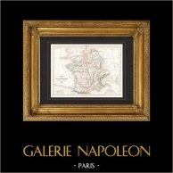 Carte de la Gaule - France