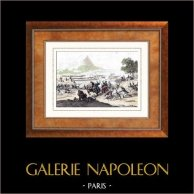 Napoleonic Wars - Egyptian Campaign - The Battle of Mount Tabor which opposed French Forces under General Kleber to an Ottoman Force led by the Pasha of Damascus (1799)