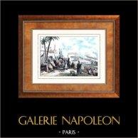 Guerras Napoleónicas  - Campaña Napoleónica en Egipto - Imperio Otomano - Batalla de Heliópolis - Kléber - Napoleón Bonaparte (1800)