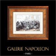 Guerres napoloniennes - Campagne d'Égypte - Empire Ottoman - La Révolte du Caire (21 Octobre 1798)
