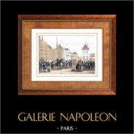 Guerre napoleoniche - 6a Coalizione - Entrata nella Città di Amsterdam (1813)