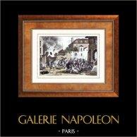 Napoleon Bonaparte - Französischen Revolution - Abwehr aus Valenciennes (1793)