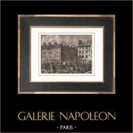 Révolution Française - Supplice de Foulon sur la Place de Grève (23 Juillet 1789)