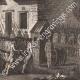 DÉTAILS 06   Révolution Française - Besenval fait prisonnier dans le château fort de Brie-Comte-Robert (10 août 1789)