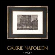 French Revolution - Favras Punishment - Cathédrale Notre Dame de Paris (1789)