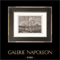 Révolution Française - Insurrection (10 Aoüt 1792) - Commune de Paris - Prise des Tuileries   Gravure sur cuivre originale dessinée par Monnet, gravée par Gysin. Papier filigrané. 1818