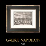 French Revolution - Napoleonic Campaign in Italy - Celebration for the entry of plundered artworks - Champ de Mars (1798)