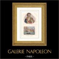 Retrato de Denis Decrès (1761-1820) - Almirante - Revolución Francesa - Primer Imperio Francés - Napoleón Bonaparte - Navio - Le Glorieux