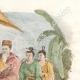 DÉTAILS 04   Japon - Chine - Corée - Un chef et ses Deux Fils - Kouang Yong Déesse du Pardon