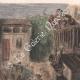 DÉTAILS 02 | La Tauromachie - Corrida en Espagne - Torero - Novillos - Novillada de lugar (Gustave Doré)