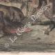 DÉTAILS 04 | La Tauromachie - Corrida en Espagne - Torero - Novillos - Novillada de lugar (Gustave Doré)