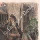 DÉTAILS 05 | La Tauromachie - Corrida en Espagne - Torero - Novillos - Novillada de lugar (Gustave Doré)
