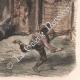 DÉTAILS 06 | La Tauromachie - Corrida en Espagne - Torero - Novillos - Novillada de lugar (Gustave Doré)