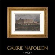 Vue de Madrid - Palais Royal (Espagne)