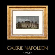 Vue de Londres - Palais - Somerset House (Angleterre)