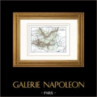 Carte - Campagne d'Allemagne - 1809 - 5ème Coalition - Napoléon Bonaparte