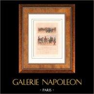 Moda Francesa - Francia - Siglo 18 - Siglo XVIII - Luis Delfín de Francia - Artillería