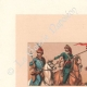 DÉTAILS 01 | Mode Française - France - 18ème Siècle - XVIIIème Siècle - Uniforme Militaire - Armée Française - Cavalerie - Hussard - Chevau-Légers