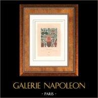Mode Française - Gaulois - Mérovingiens - Bijoux - Orfèvrerie - Fibule