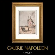 Collection Mills of France 34/68 - Windmill - Gastins (Seine-et-Marne - France)