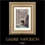 Porte Noire - Roman Gaul Triumphal arch - Marcus Aurelius - Besançon (France)